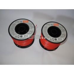 2x Stihl Mähfaden 2,7 mm für FS55 bis FS480 Rolle mit 215 m rund