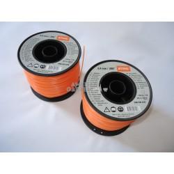 2x Stihl Mähfaden 2,4 mm für FS55 bis FS480 Rolle mit 261 m rund