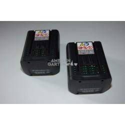 2x Stihl AP 300 36V 227Wh