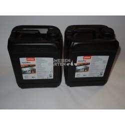 Stihl ForestPlus Sägekettenöl Sägekettenhaftöl Kettenöl 2x 5 Liter Kanister