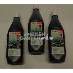 Stihl HP Super Zweitaktmotorenöl Mischöl Zweitaktöl 3x 1l Flasche