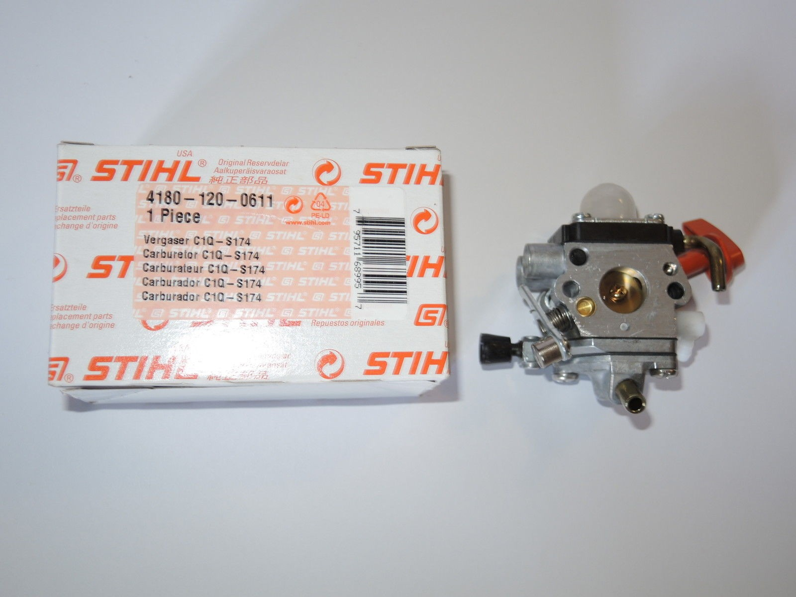Stihl Carburettor C1Q-S174 for FS FC FT HL HT KM 87 90 95 100 101 110 -  AMEISENGARTEN