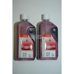 2x Stihl HP Zweitaktmotorenöl Mischöl Zweitaktöl 1l Flasche