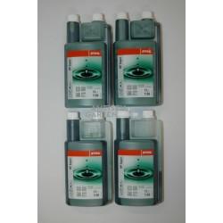 Stihl HP Super Zweitaktmotorenöl Mischöl Zweitaktöl 4x 1l Dosierhilfe