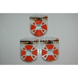 3x Stihl Mähfaden 2,4 mm 3x Rollen mit je 86m rund