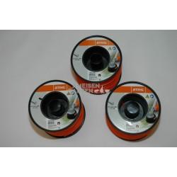 3x Stihl Mähfaden 2,4 mm für FS55 bis FS480 Rolle mit 261 m rund