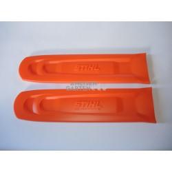2x Stihl Schwertschutz Kettenschutz für Schwerter 40 - 45 cm Schnittlänge