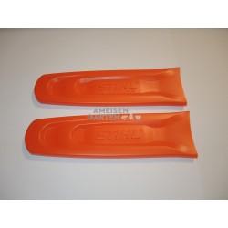 2x Stihl Schwertschutz Kettenschutz für Schwerter 30 - 35 cm Schnittlänge