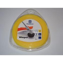 Husqvarna Trimmerfaden Whisper 2,0 mm //15 m Motorsense-Trimmer