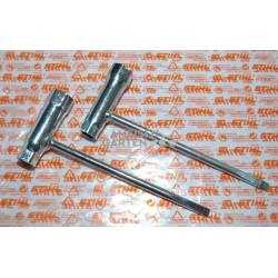 2x Stihl Schlüssel Kombischlüssel 13 x 19 mm MS HT HTE FC MSE