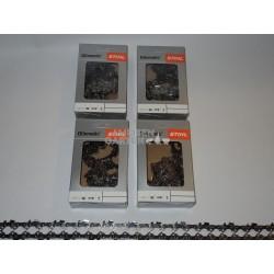 """4x Stihl Saw Chain 35 cm 1,1 mm 3/8""""P SEMI CHISEL PM 50 drive links"""