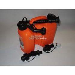 Stihl 3+1,5L Kombikanister Kanister für Benzin + Kettenöl + Einfüllsystem