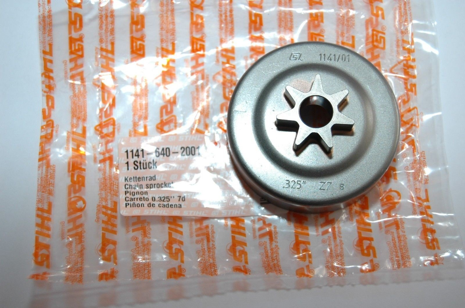 Für Stihl 025 MS210 MS230 MS250 7Z Kettenrad Nadellager Mit Kupplung Scheibe DE