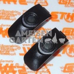 2x Stihl Spannklammer Clip für Filterdeckel Haube MS 441 MS441