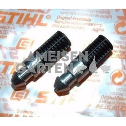 2x Stihl Filter Saugkopf Ölfilter für Motorsägen