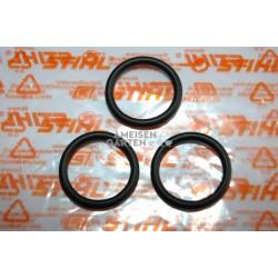 Stihl 3x Tankdeckel Tankverschluss Dichtung O-Ring 25 x 3.5mm