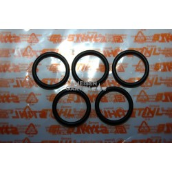 Stihl 5x Tankdeckel Tankverschluss Dichtung O-Ring 25 x 3.5mm