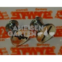 Stihl 2x Schlitzmutter der Zylinderhaube MS240 MS260 MS340 MS360 MS880