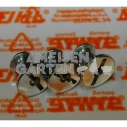 Stihl 3x Schlitzmutter der Zylinderhaube MS240 MS260 MS340 MS360 MS880