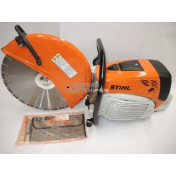 Stihl TS 800 Cut Off Machine with a standard Cutting Wheel