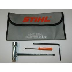 Stihl MS441 Schlüssel Kombischlüssel + Werkzeugtasche Werkzeug Set