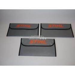 Stihl 3x Stoff Werkzeugtasche für Motorsägen