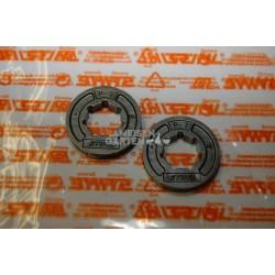 """2x Stihl Kettenrad Ritzel 3/8"""" 7Z 021 023 024 025 MS211 MS230 MS231 MS240"""