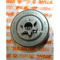 "Stihl 3/8"" P 6Z Kettenrad + Nadellager MS231 MS241 MS251"