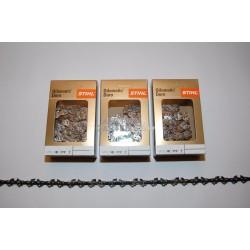 "3x Stihl Sägekette 40 cm 1,3 3/8""P Picco Duro 54 x TG Hartmetall"