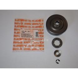"""Stihl Ringkettenrad Kupplungstrommel Ritzel 3/8"""" 8Z MS640 MS650 MS660 MS661"""