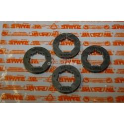"Stihl 4x Ritzel Ringkettenrad 404"" 7Z MS640 MS650 MS660 MS661 MS780 MS880"