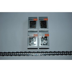 "4x Stihl RS Saw Chain 40 cm 1,6 mm 325"" FULL CHISEL 67 Drive Links"
