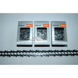 "3x Stihl RS Saw Chain 37 cm 1,6 mm 325"" FULL CHISEL 62 Drive Links"