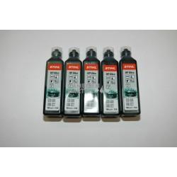 Stihl HP ULTRA Zweitaktmotorenöl Mischöl Zweitaktöl 5x 100 ml Flasche