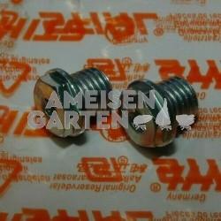 2x Stihl Schraube der Abschmierung vom Winkelgetriebe FS55 FS88 FS120 FS160