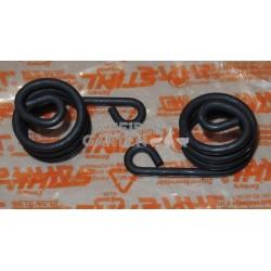 2x Stihl AV Feder Rahmen SR340 SR420 FR85 FR220 FR350 FR450 FR480 BR45 BR340