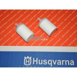 2x Husqvarna Filter Benzinfilter für Husqvarna Jonsered Motorsägen + Freischneider