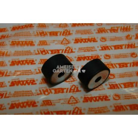 2x Stihl Standfuss Stütze Gummipuffer TS410 TS420 TS510 TS700 TS760 TS800