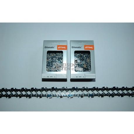 "2x Stihl RM Sägekette 120cm 1,6 mm 3/8"" HALBMEISSEL 152TG"
