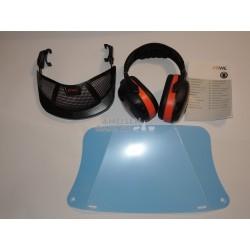 Stihl Gesichtsschutz + Gehörschutz + Stirnschutz