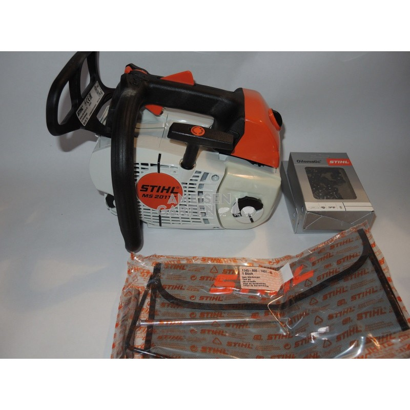 Stihl MS 201 TC-M Extremely light arborist chainsaw MS201 TC-M