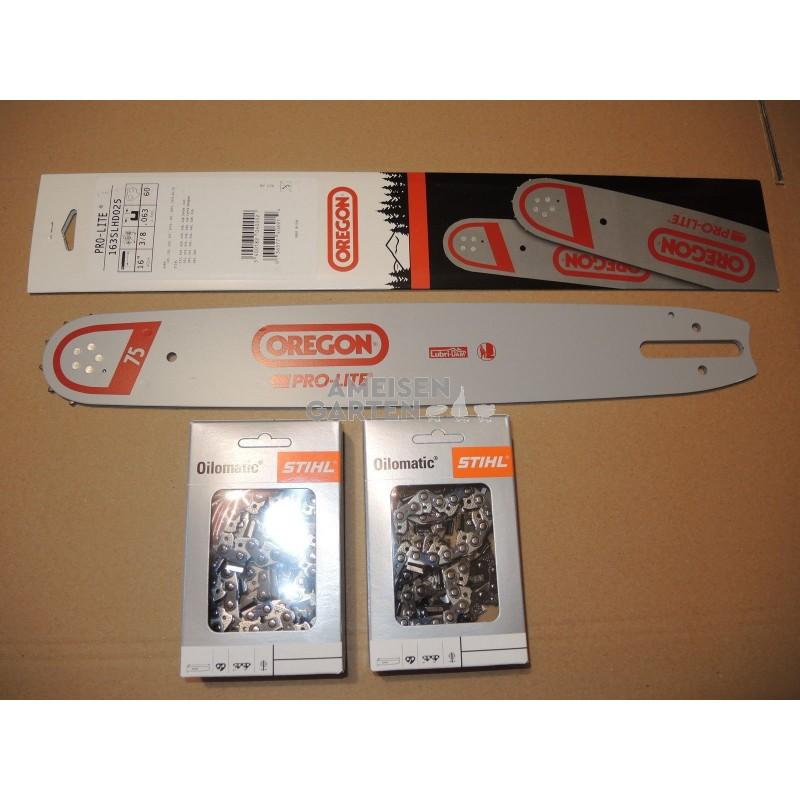 Oregon Sägekette  für Motorsäge STIHL MS310 Schwert 50 cm 3//8 1,6