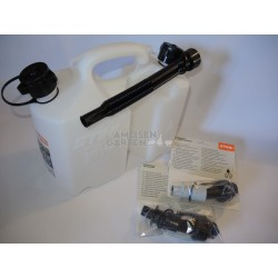Stihl 5L + 3L Kombikanister Kanister für Benzin u Kettenöl + Einfüllsysstem