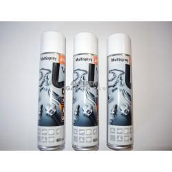 3x Stihl Multispray 400ml Reiniger + Schmiermittel + Korrosionsschutz